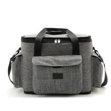 Oxford Insulation Lunch Bag Aluminum Foil Ice Picnic Food Bags Portable Outdoor School Cold Cooler Box Thick Insulated
