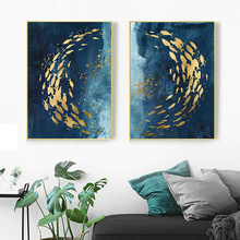 Modern abstract series Painting Canvas Wall Art Picture Home Decoration Living Room Print ART5854-2