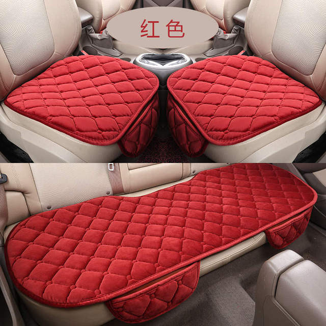 New Universal Velvet Car Seat Cushions For Renault Scenic Fluence Latitud Koleos Laguna Megane cc Talisman,High-fiber,Car-Covers