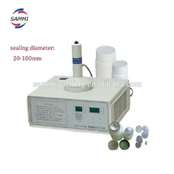 Induction glass bottling sealing machine