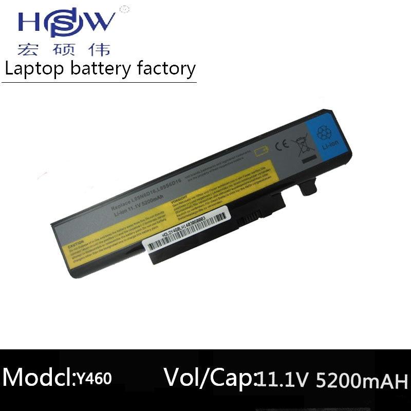 Аккумулятор HSW 5200mAH для LENOVO IdeaPad B560 Y460 V560 Y560 Y460A Y460C Y460N Y460P Y560 Y560A Y560P 57Y6440 L10S6Y01 bateria