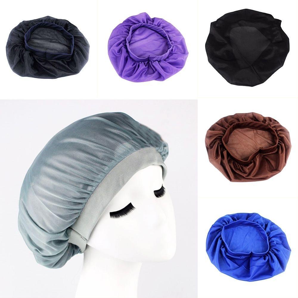 цены на Pure Silk Night Cap For Long Curly Hair Care Scarves Bonnet Sleep Sleeping Hat в интернет-магазинах