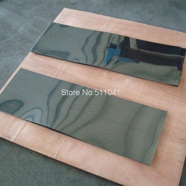 1pc niti plate niti sheet super elastic nitinol plate sheet 1 1mm thick