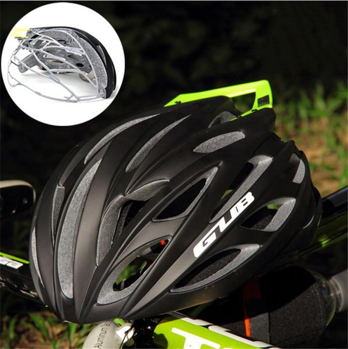 ФОТО FREE SHIPPING GUB SV8 PRO Mountain Bike Helmet With frame Empennage Integrally Frame Helmet