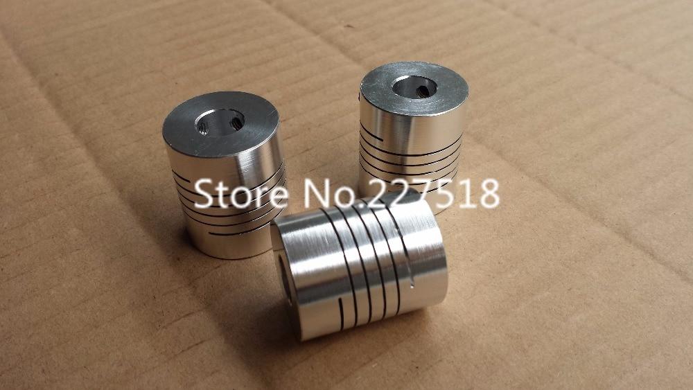 10pcs lot 6 35 10mm Flexible Shaft Coupler 6 35mm x10mm Flexible Coupling 6 35 to