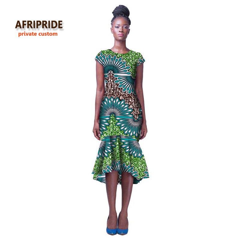 2018 style africain robe pour femmes traditionnelle africaine sexy robe de soirée pour ladys robe africaine bazin riche vêtements A722531