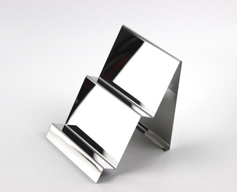 Wallet <font><b>Display</b></font> Rack Handbag <font><b>Display</b></font> Stand Stainless Steel Metal Double layer Bag <font><b>Display</b></font> Holder Rack