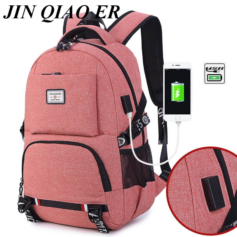 Laptop Backpack Rucksack Travel-Bags Teenager Multifunction High-Capacity Mochila Women's
