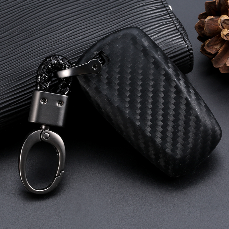 Image 5 - Car Key Case Cover Carbon Fiber For Bmw 1 3 5 7 Series X1 X3 X4 X5 X6 M3 M5 Z4 F20 F30 F10 E90 E60 E30 Car key Shell Protecor-in Key Case for Car from Automobiles & Motorcycles