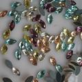 #76 30pcs Cute Mix Horse Eye Shapes Glass Rhinestone Nail Resin Decoration Outlooking