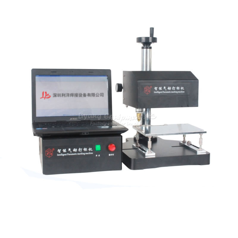 Engraving marking machine ZY20-DB-B printing serial number  date metal name plate engraving machine for batch number marking