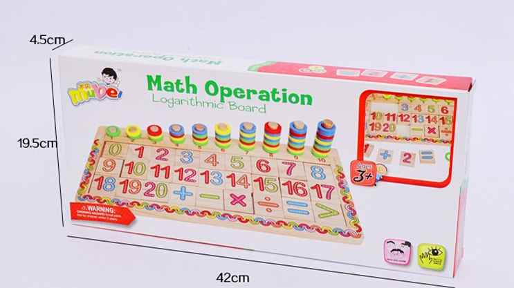 Muito Materiais Montessori Brinquedos educativos Dominó Crianças  UT79