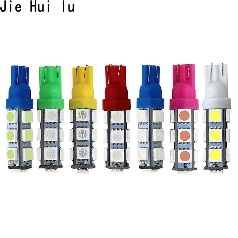 T10 13 SMD 5050 blanco Auto lateral Led de señal de vuelta de luz DC 12V 13led 194 168 W5W cuña lámparas de Interior de bombillas 13SMD