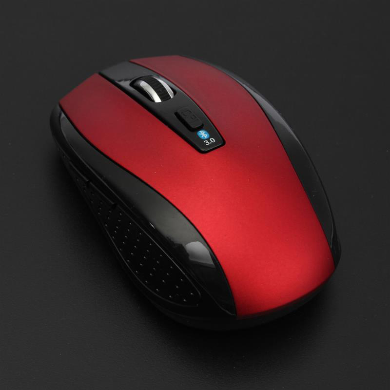 Ergonomic Non-slip Wireless Optical Bluetooth Mouse 1600 DPI Gaming Bluetooth 3.0 Mice For Laptop Notebook PC Computer LSMK99