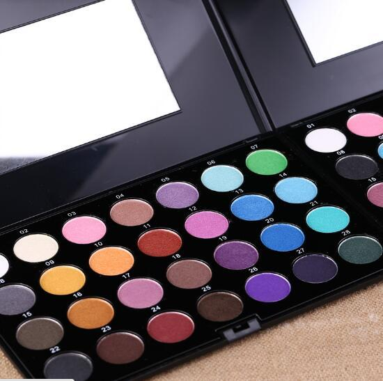 2017 new 28 Colors Eyeshadow Palette Cosmetic Makeup Eye Shadow With Brush Colorful Eyeshadow Palette Makeup