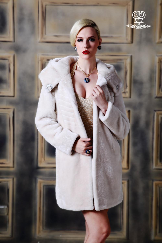 Aliexpress.com : Buy Genuine Double face Leather Coat 100