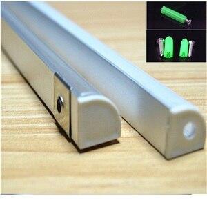 Image 3 - 20 80m ,10 40pcs 2meters  aluminium profile,45degree corner led aluminium profile for 10mm PCB board ,semi round  led bar light