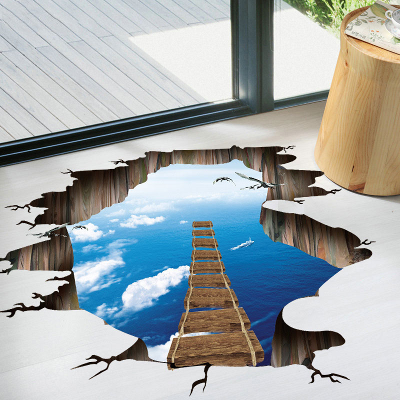 Cosmic Ladder 3D Home Decoration Sticker
