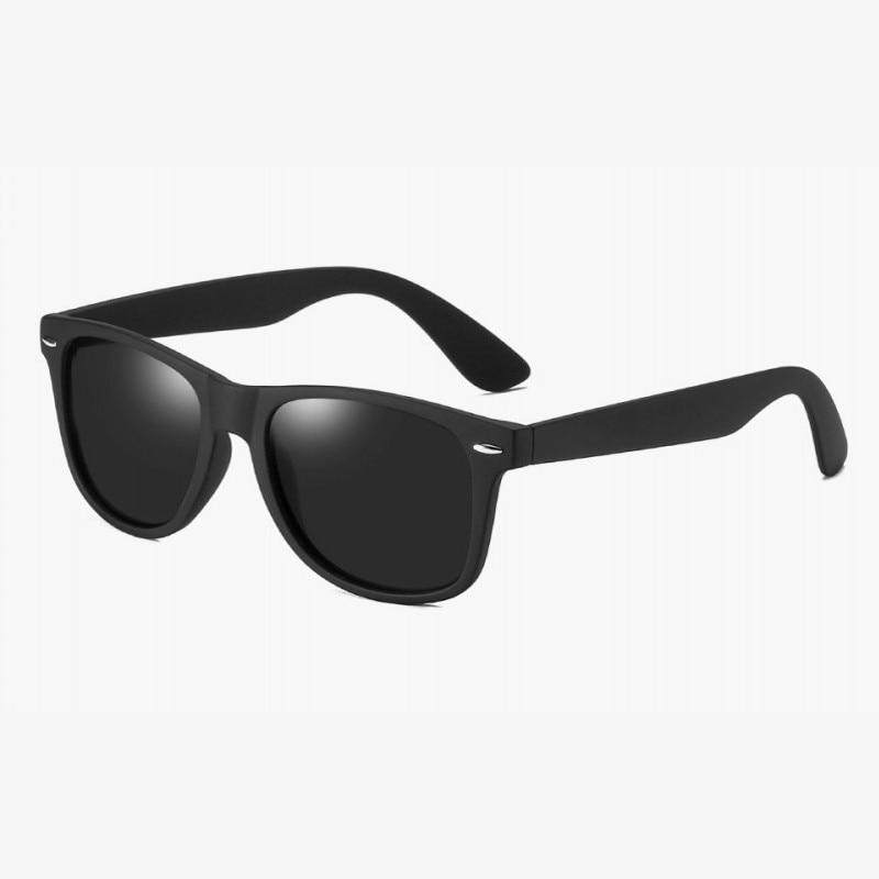 Fashion Polarized Sunglasses Men Women Driving Coating Points Black Frame Eyewear Male Sun Glasses UV400 Rays Sunglasses