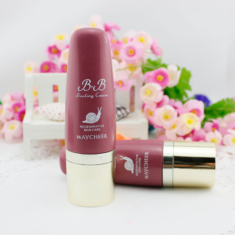 New 40mL Whitening Snail BB Cream Perfect Cover Oil Control Moisturizer font b Sun b font