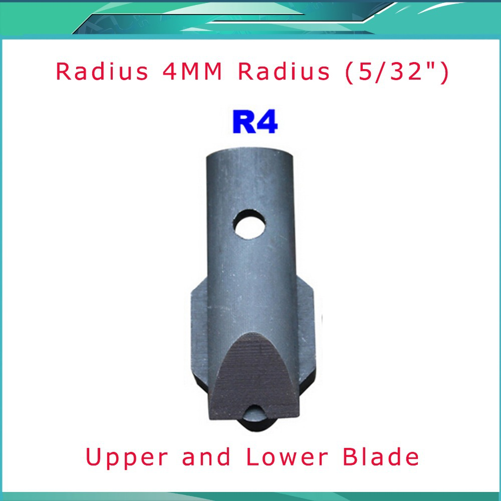Radius(5/32) Replaceable Die Blade for All Metal Corner Rounder Punch Cutter R4 stylish chiffon back short blazer