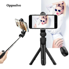 Oppselve 3 in 1 Bluetooth Selfie Stick Tripod Extendable Monopod Universal For iPhone XR X 7 8 6 S For Samsung For Huawei Tripod