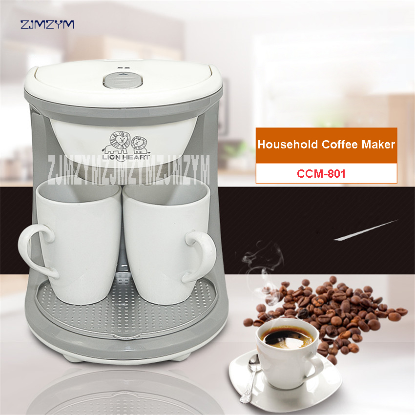 2 Cups CCM-801 High Quality Machine Coffee (Ceramic Mug), American or Nescafe capsules machine 0.25L Coffee Machine 220V/50 Hz термокружка emsa travel mug 360 мл 513351