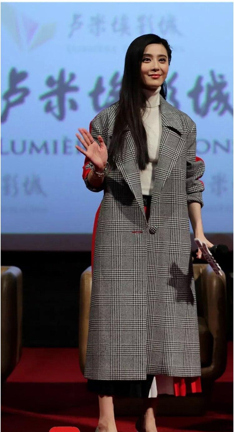Laine Manteaux Mujer Survêtement 2xl Vintage Épais Chaud Picture De Longs Poule Hiver Slim Abrigos Bouton Color Ol Unique Femmes Patchwork afSnzqFw