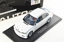 White Autoart 1/18 Car Model for 1/18 320I E46 WTCC 2005 Race Sport Car Kid Toys Model Hot Selling Alloy Brinquedos 80548