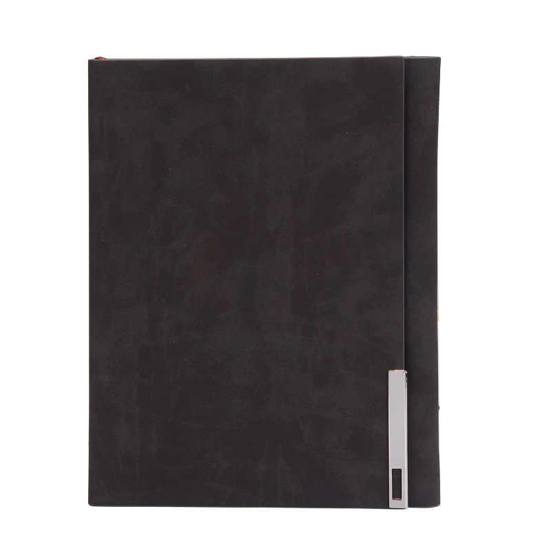Cuaderno de bocetos diario para dibujar pintura Graffiti funda suave papel negro boceto libro Bloc de notas cuaderno Oficina escuela suministros regalo