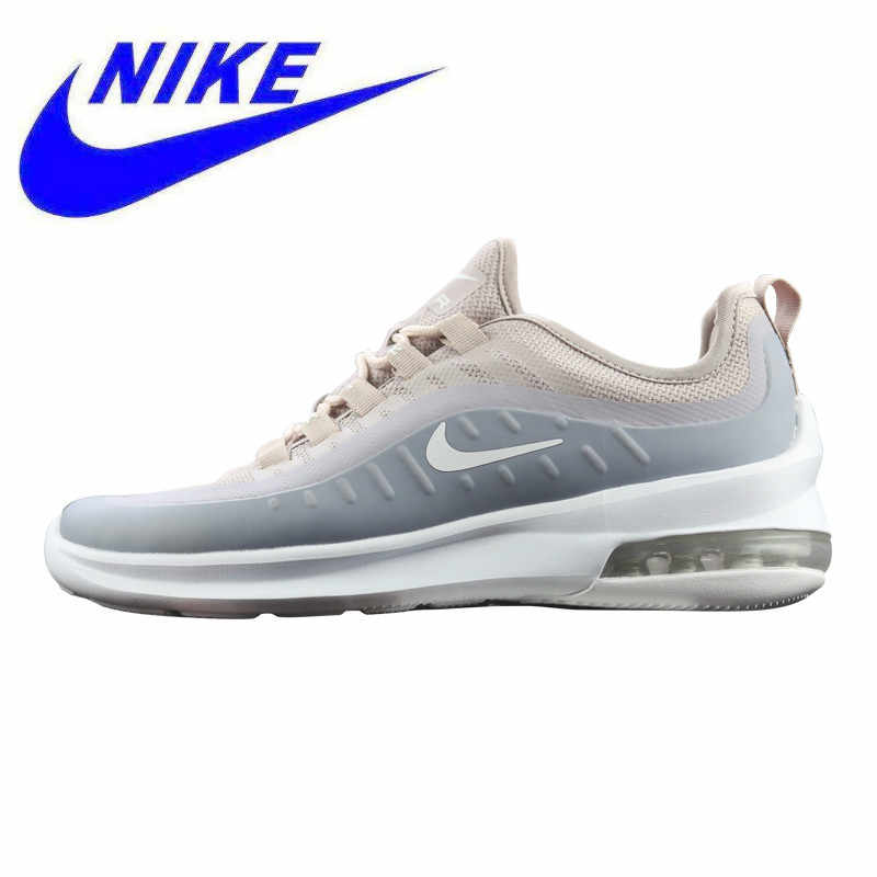 91ea95cb Nike Air Max Axis New Arrival Women's Running Shoes, Grey & White,  Breathable Non