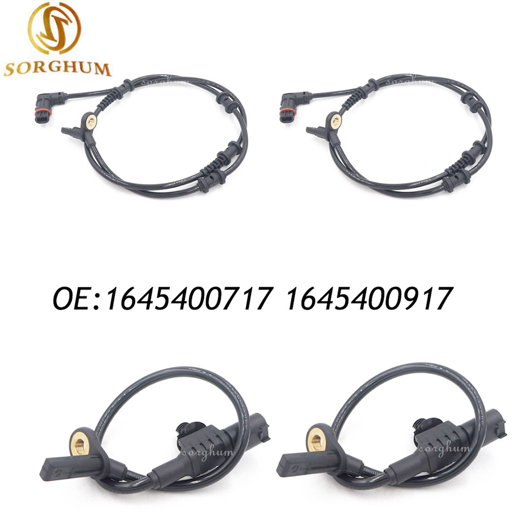 1645400717 1645400917 Rear 2p Front 2p ABS Wheel Speed Sensor For Mercedes Benz W164 W251 R320