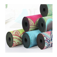 Natural Rubber and Suede Yoga Mats - Luxury Eco Friendly Anti Slip Thick Yoga Mat 3mm Ideal For Hot Yoga