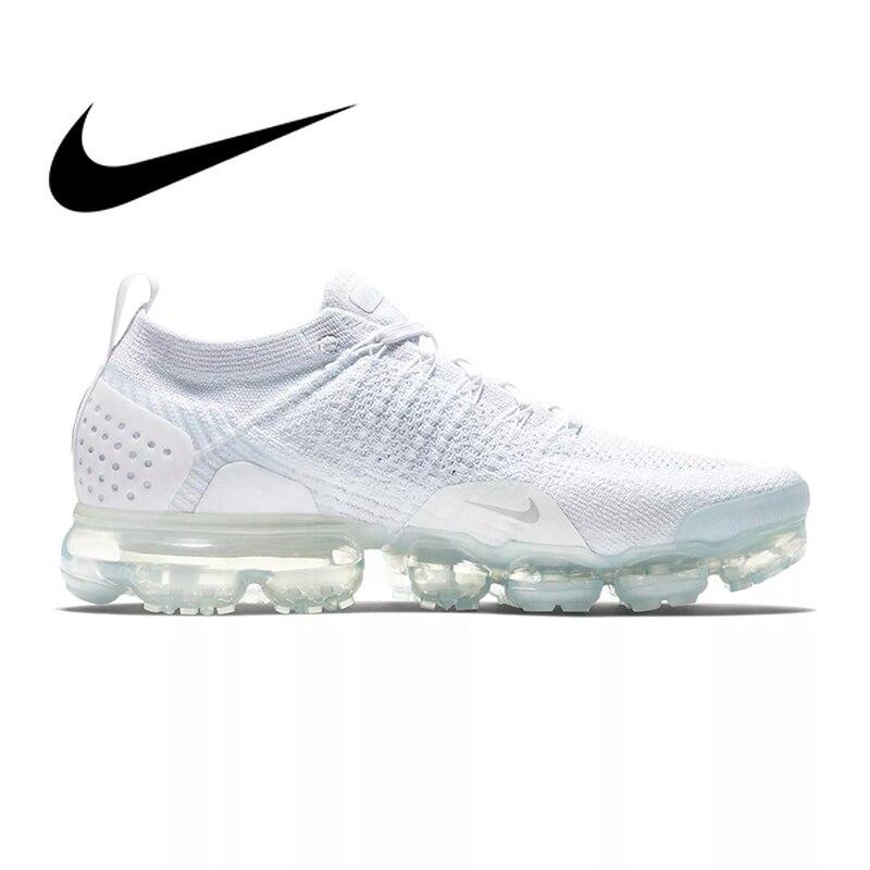 Original Et Authentique NIKE AIR VAPORMAX FLYKNIT 2 Chaussures de Course pour Hommes Lumière Résistant À L'usure Respirant Jogging Sneakers 942842