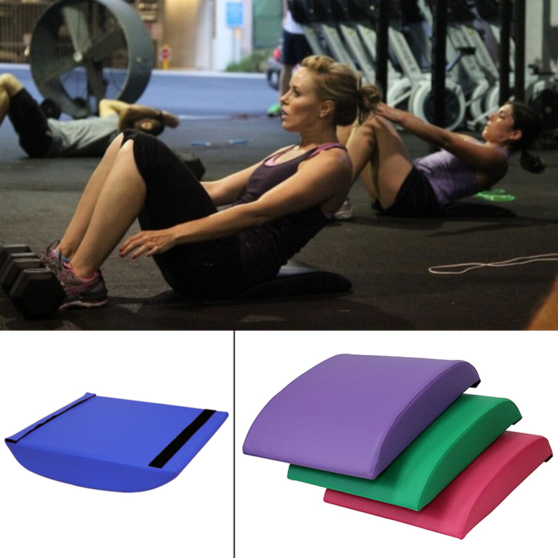 Women Ab Exercise Mat - Abdominal Trainer Mat - For CrossFit, Sit Up Routines And Six Pack Workouts Belly Training Gym Board image