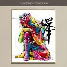 Modern Buddha Oil Decorative