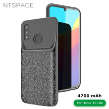 NTSPACE 4700mAh Battery Charger Case For Huawei Honor 10 Lite Ultrathin Power Bank Charging Cover