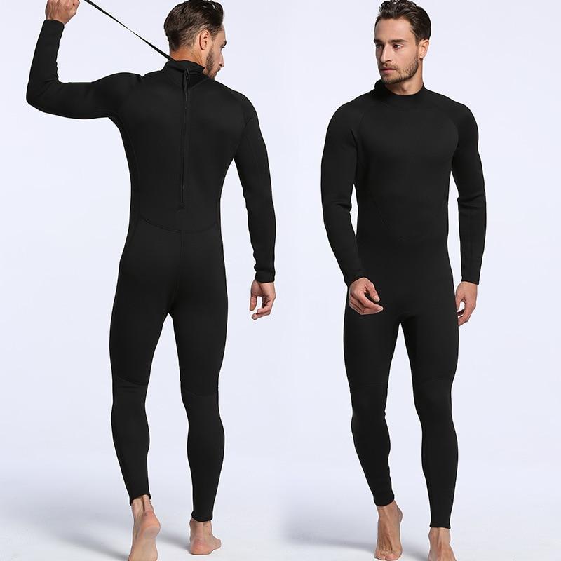 Muškarci i žene od 2 mm, pune crne pantalone sa dugim rukavima, - Sportska odjeća i pribor - Foto 4