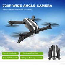 Global Drone GW68 RC Folding Mini Altitude Hold Aerial Photography Wide Angle 720P Camera Drones