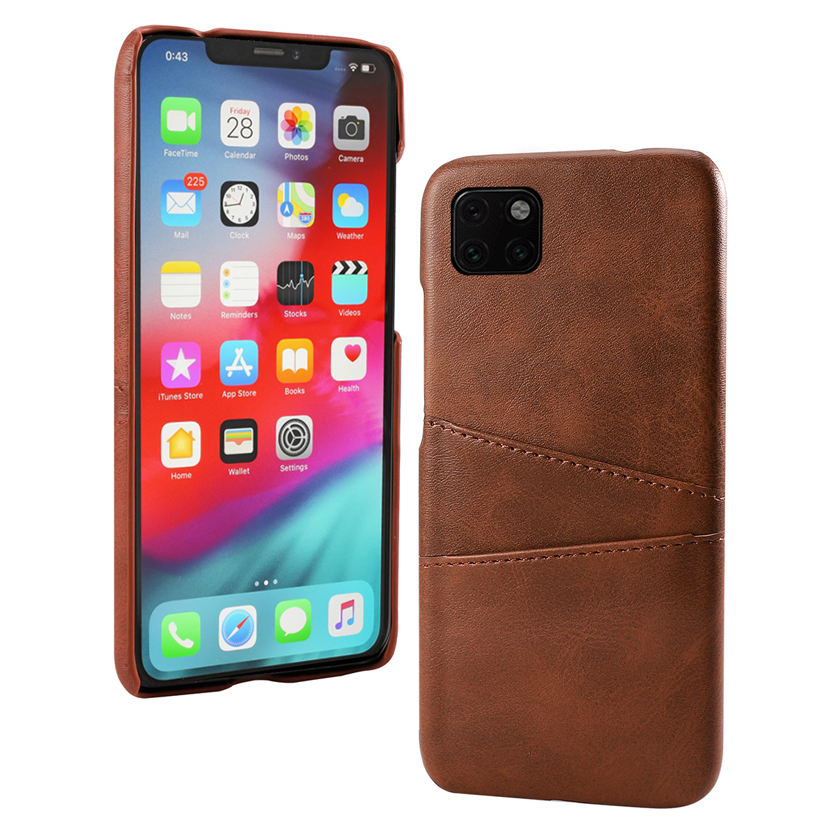 Torubia Leather Card Holder Case for iPhone 11/11 Pro/11 Pro Max 9