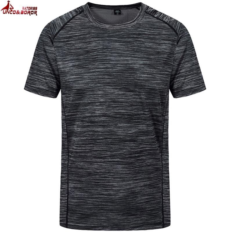 Simples design criativo quick dry Tamanho big & Tall Crew-Neck T Camisas dos homens Novos da Chegada do Verão Estilo t-shirt Dos Homens de Manga curta