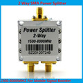 High quality 1500~8000Mhz 2 Way RF Power Splitter Combiner w/ SMA Female Connector High Frequency 1.5-8Ghz Power Divider