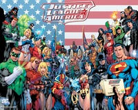 Spedizione Gratuita Su Ordinazione DC Super Heroes Poster Camera Da Letto Autoadesivo Della Parete Della Decorazione Superman Batman Justice League Carta Da Parati #0140 #