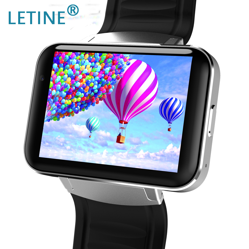 Wearable Devices Dynamic Letine Dm98 Luxury Android Smart Watch Cell Phone 3g Electronic Wrist Watches Support Sim For Men Women Pk Kingwear Kw18 Kw88 Commodities Are Available Without Restriction