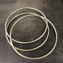New Examinable Linking Ring (Dia. 30cm) Magic Tricks Three Linking Rings Set Magia Magicians Stage Gimmick Prop Accessories Fun
