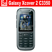 C3350 Original Unlocked Samsung C3350 2.2 Inches GPS GSM Cheap Refurbished Mobile Phone Free Shipping