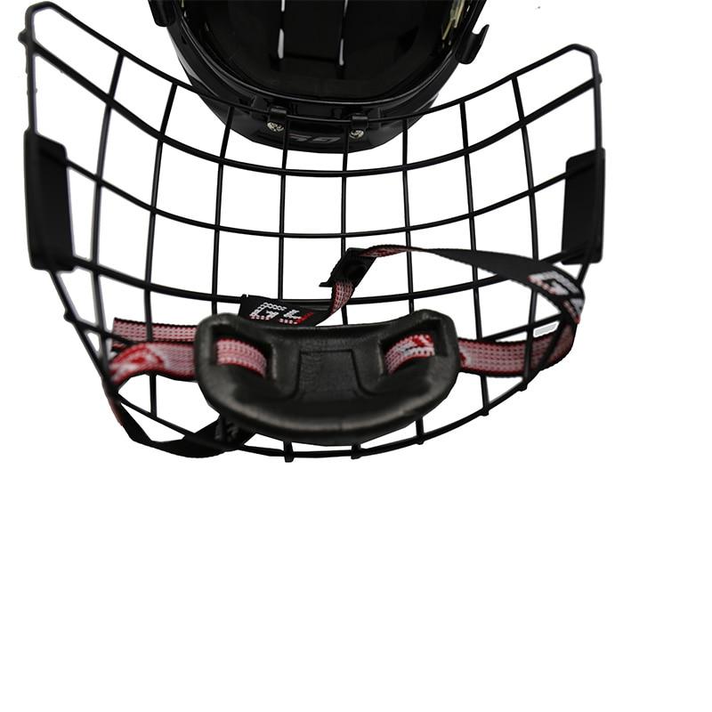 hóquei no gelo casque cor preta xs e xl tamanho capacete