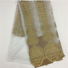 Stone Lace Of High Quality Pearl Africa The French Muslin Curtains 5