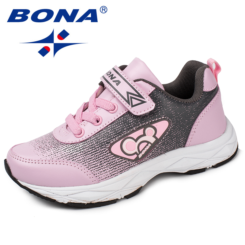 BONA New Popular Style Children Casual Shoes Synthetic Girls Shoes Hook & Loop Boys Loafers Outdoor Fashion Sneakers ShoesBONA New Popular Style Children Casual Shoes Synthetic Girls Shoes Hook & Loop Boys Loafers Outdoor Fashion Sneakers Shoes
