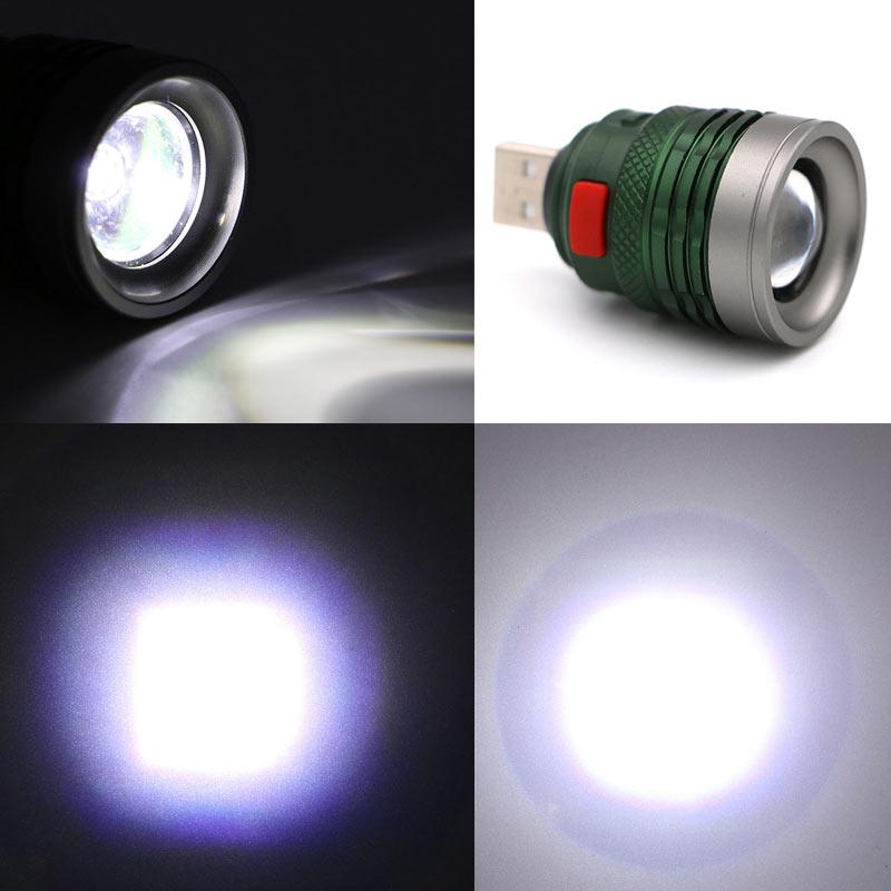 Lanternas e Lanternas poderoso levou lanterna ao ar Material do Corpo : Liga de Alumínio